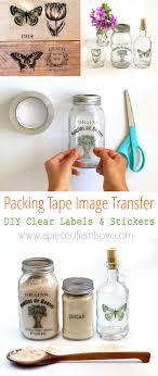 ng tape image transfer diy clear