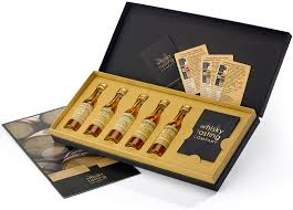 retirement whisky tasting kit gift set