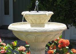 backyard birdbaths and fountains clean