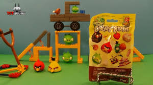 K'NEX ANGRY BIRDS SERIES 2 MYSTERY PACK,TEAM TOYHOUND REVIEW - YouTube