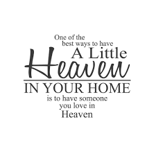 wall quotes wall decals heaven in your home