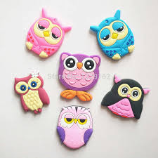 cute cartoon owl fridge magnets