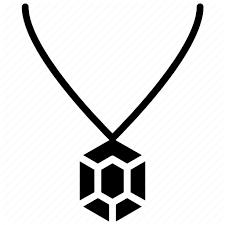 hawaiian jewelry locket necklace icon