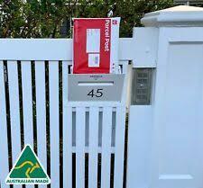 Black Parcel Delivery Letterbox Mail Drop Box Mailbox Post Monument For Sale Online Ebay