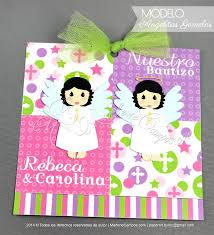 Invitaciones Bautizo Comunion Cumpleanos Nina Impresas