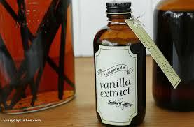 homemade vanilla extract everyday dishes
