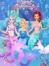 ice princess mermaid salon s