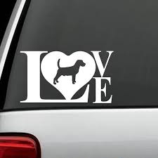 2020 Beagle Love Dog Decal Sticker For Car Truck Rabbit Hunting Art Painting Car Stickers Vinyl Decor Decals From Xymy797 3 52 Dhgate Com