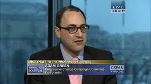 Adam Green on the Progressive Agenda | C-SPAN.org