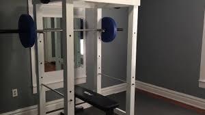 homemade squat rack power rack how to