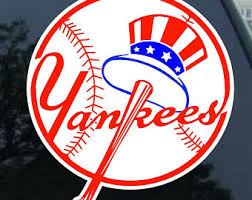 Yankees Decal Etsy