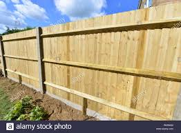 Feather Edge Fencing High Resolution Stock Photography And Images Alamy