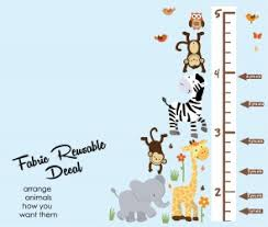 Growth Chart Wall Decals Height Wall Chart Stickers For Measuring Your Kid