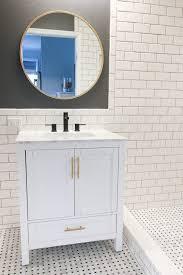 hang a bathroom mirror