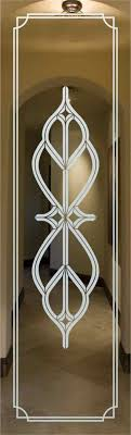 glass door sticker designs table and