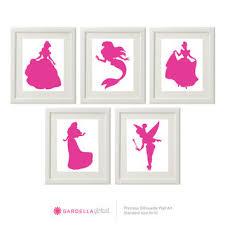 Customizable Disney Princess Silhouette From Gardellaglobal On