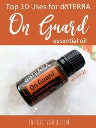 uses for doterra on guard essential oil