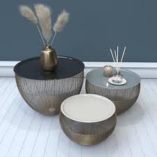 mid century modern set of 3 handmade