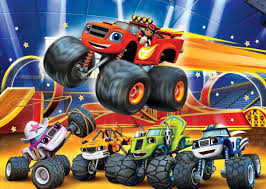 Decoracion De Candy Bar De Blaze And The Monster Machines Buscar