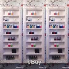 rel display rack holder varnish
