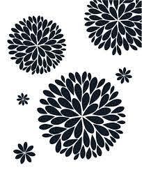 The Original Dahlia Flower Vinyl Wall Decal Flower Decal Etsy
