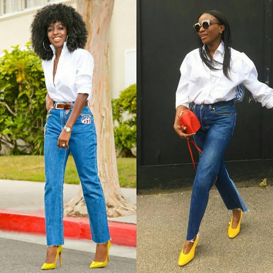 """Image result for nigerians wearing shirt and jeans"""""""