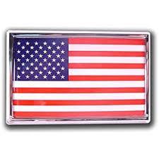 Amazon Com Texas Longhorn Lonestar State Flag Suv Size Premium Chrome Metal Car Truck Motorcycle Longhorns Emblem Automotive