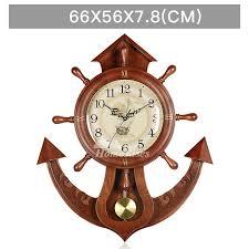 nautical pendulum wall clock decorative