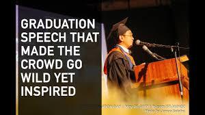 filipino best graduation speech lloyd luna funny motivational