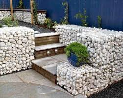 Fabulous Ideas For Your Garden Using Stone And Wire Mash Summervibes Gabion Wall Gabion Retaining Wall Gabion Baskets