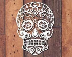 Sugar Skull Stickers Etsy