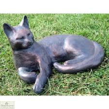 classic cat garden ornament the home