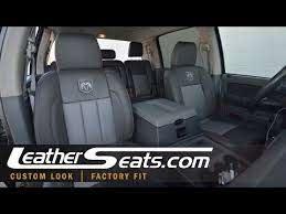 dodge ram mega cab leather interior kit