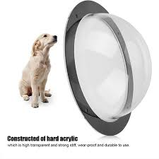 Yosoo Durable Acrylic Pet Sight Window Dome Insert Fence Clear Outside Landscape Viewer For Cats Dogs Acrylic Pet Window Fence View Window Walmart Canada
