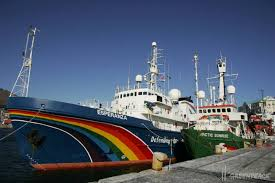 W/Africa: Greenpeace sails 'My Esperanza' to Promote Fishery Awareness -  Footprint to Africa