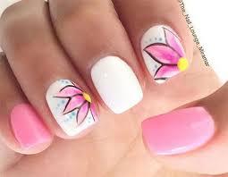 15 simple easy spring nail art designs