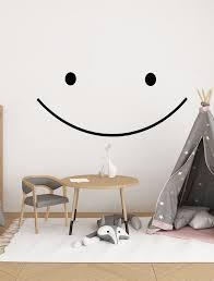 Smile Decal Smile Wall Decal Smile Vinyl Decal Smile Happy Etsy