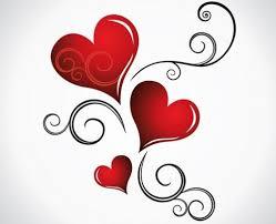 Immagini di cuori e rose con frasi tenere d'amore da dedicare