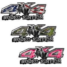 Weston Ink Rodeo Edition Bucking Bronco 4x4 Truck Decals