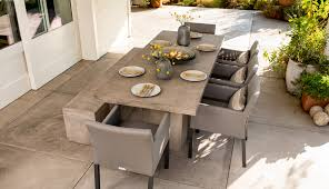 mix and match outdoor furniture styles