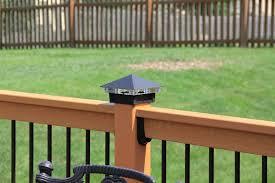 Hammonds Deck Lighting Using Low Voltage Lighted Post Caps Traditional Deck Kansas City By Moonlight Decks Llc
