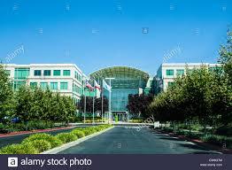 Apple Headquarters at One Infinite Loop in Cupertino California Stock Photo  - Alamy