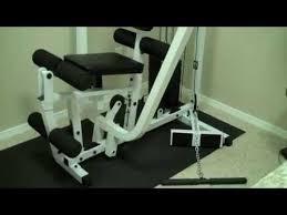 body solid home gym exm1500s embly