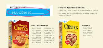 honey nut cheerios cheerios recalled