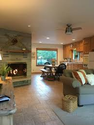 retreat indoor outdoor fireplace