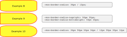 moz border radius css
