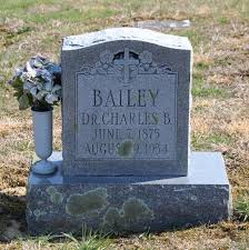 Dr Charles Byron Bailey (1875-1934) - Find A Grave Memorial