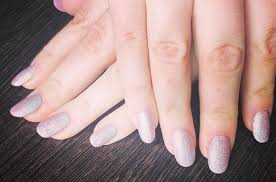 acrylic nails with cnd sac