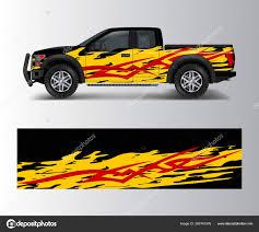 Truck Cargo Van Wrap Vector Car Decal Wrap Design Graphic Stock Vector C Oriu007 383761576