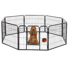 Dog Pen Extra Large Indoor Outdoor Dog Fence Playpen Heavy Duty 8 Panels 32 Inches Exercise Pen Dog Crate Cage Kennel Hammigrid Walmart Com Walmart Com